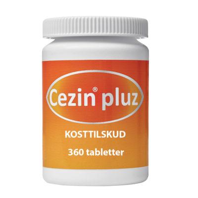 cezin pluz - vitaminer til dine øjne